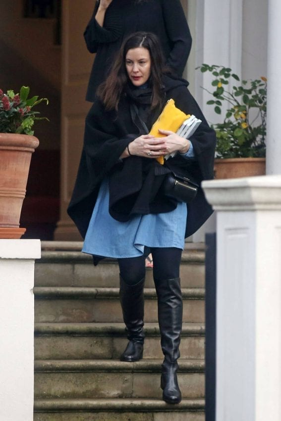 Liv Tyler Out and About in London