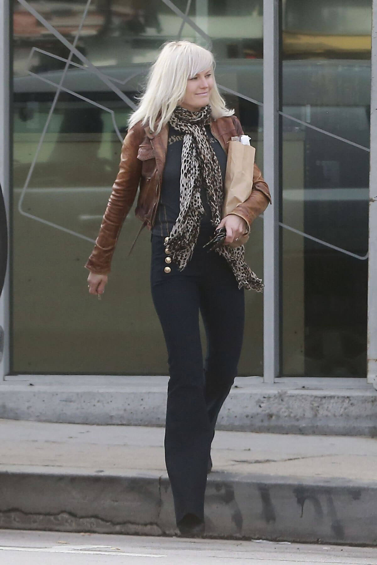 Malin Akerman Out and About in Silverlake