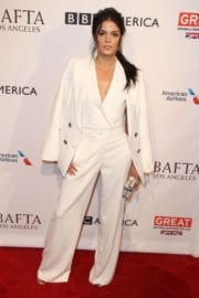 Marie Avgeropoulos at Bafta Tea Party in Los Angeles