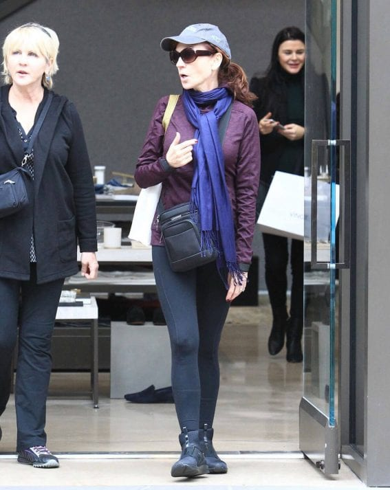Marilu Henner Shopping in Los Angeles