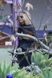 Meg Ryan at Memorial Service of Debbie Reynolds and Carrie Fisher in Los Angeles