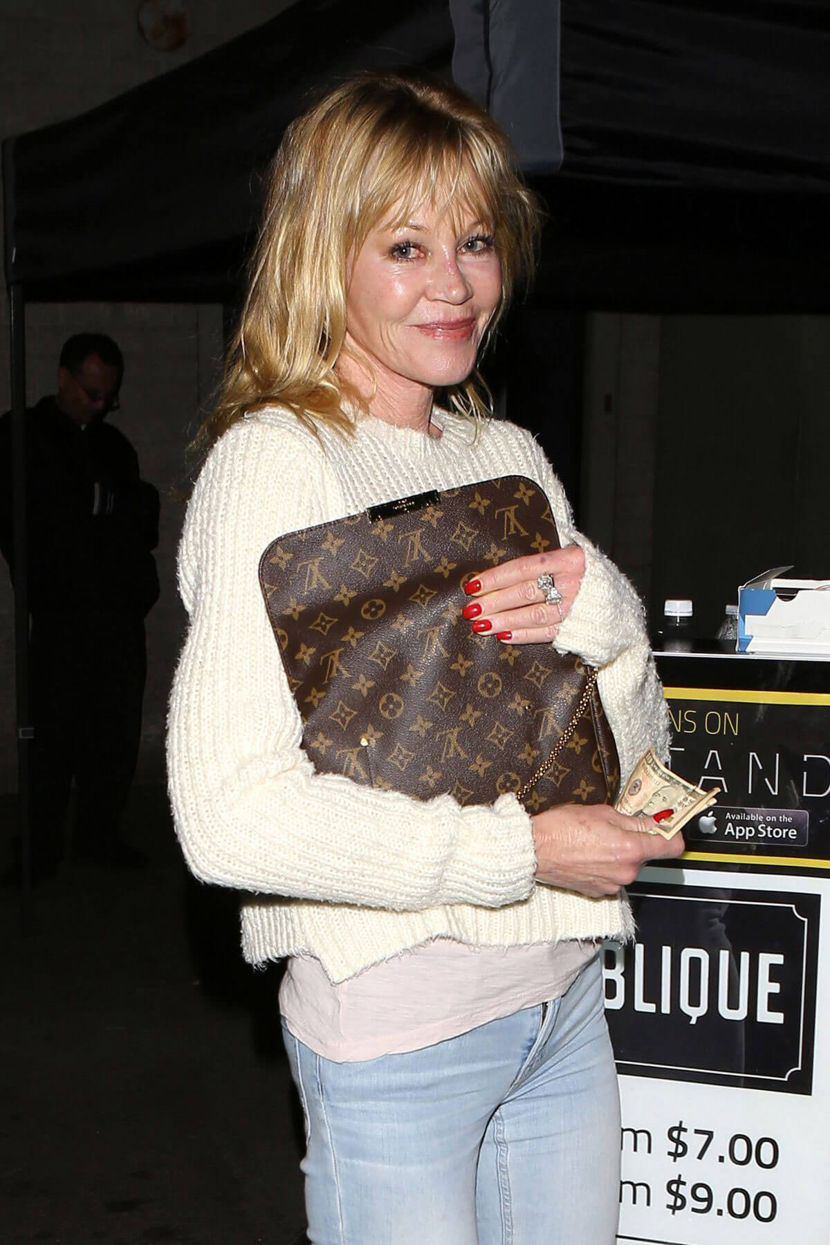 Melanie Griffith Night Out in Los Angeles