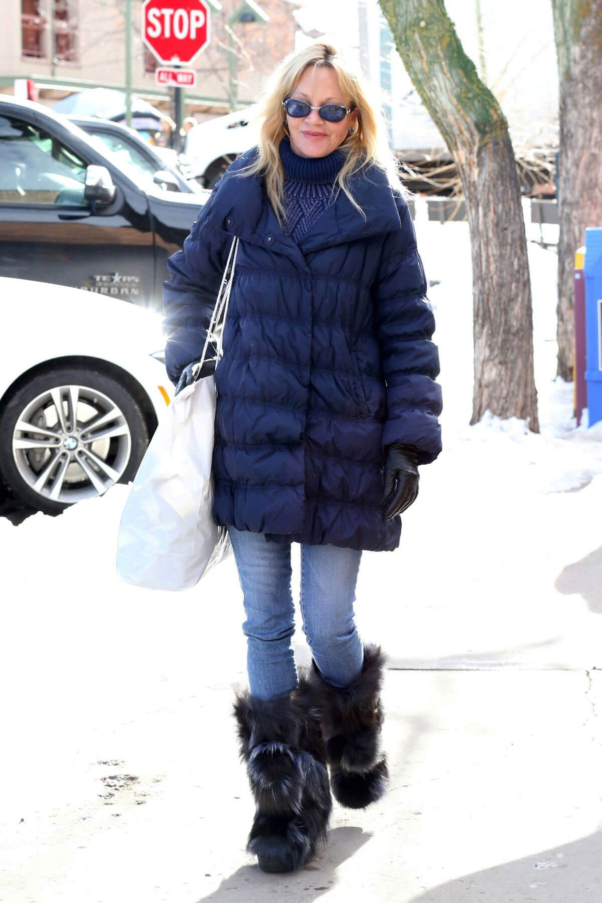 Melanie Griffith Out for Shopping in Aspen Images