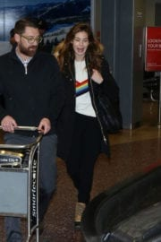 Michelle Monaghan Arrives in Salt Lake City
