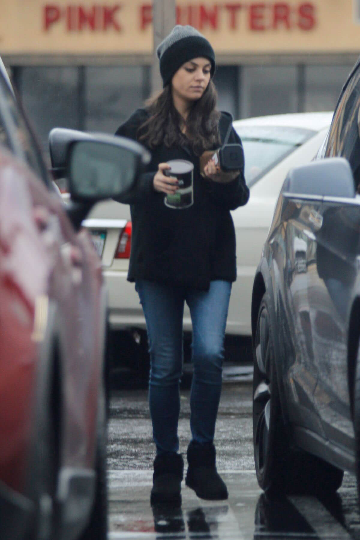 Mila Kunis Out and About in Studio City