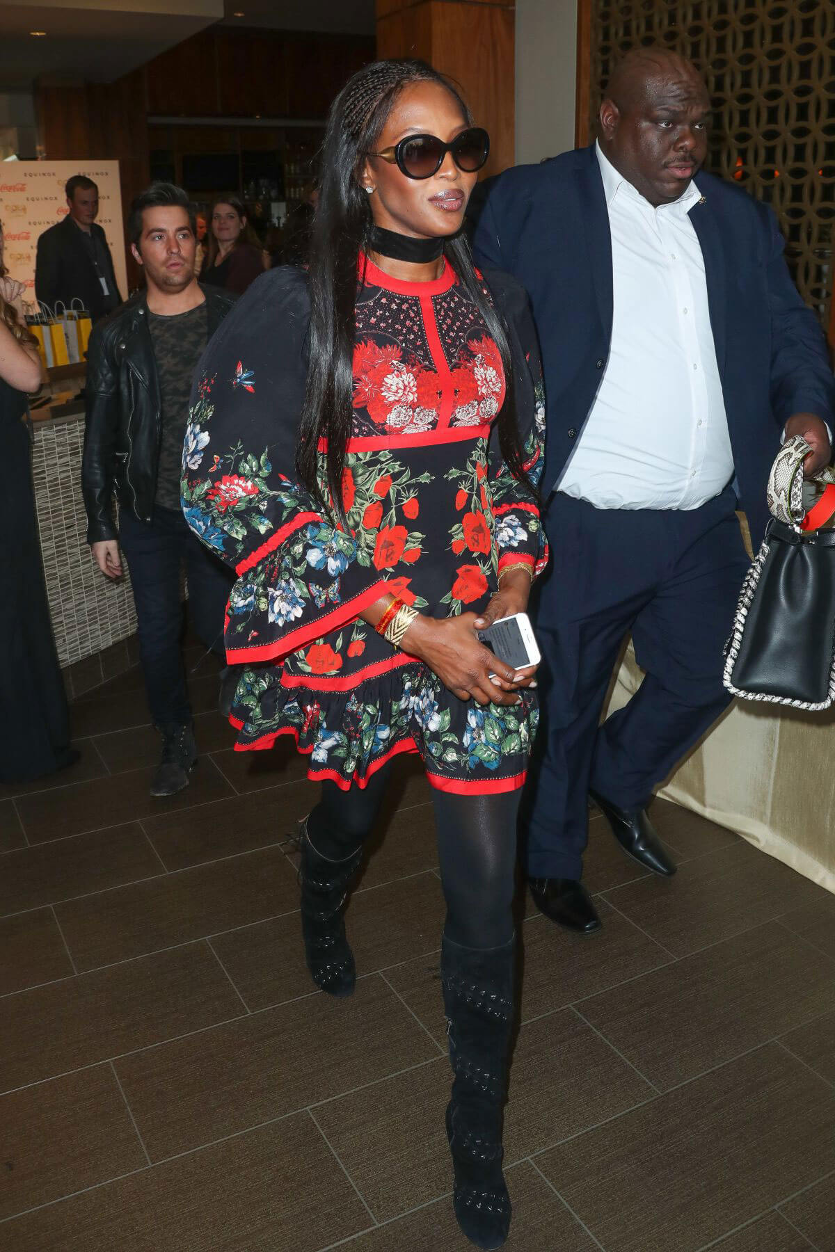 Naomi Campbell at 4th Gold Meets Golden Event in Los Angeles