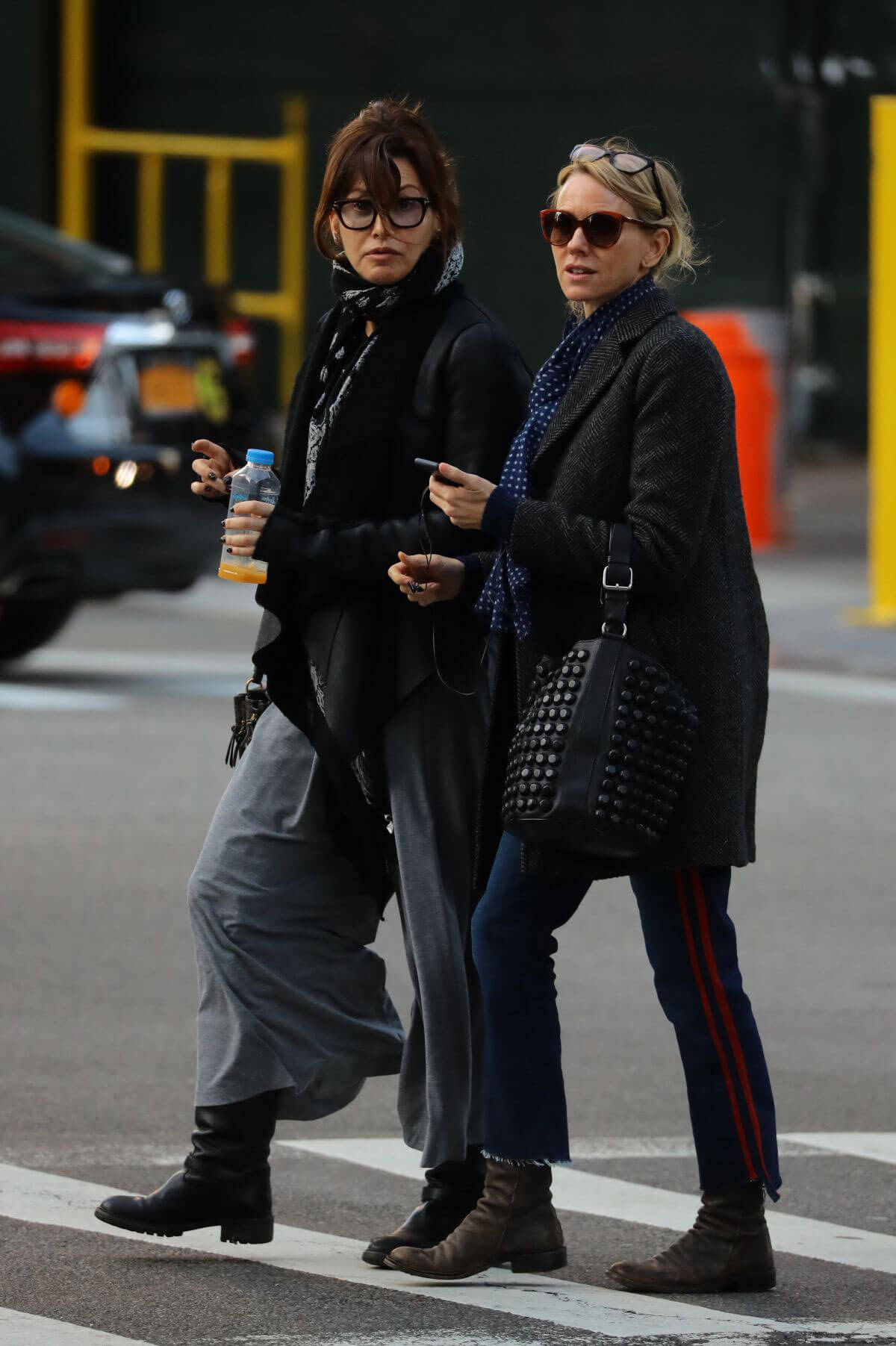 Naomi Watts and Gina Gershon Out in New York