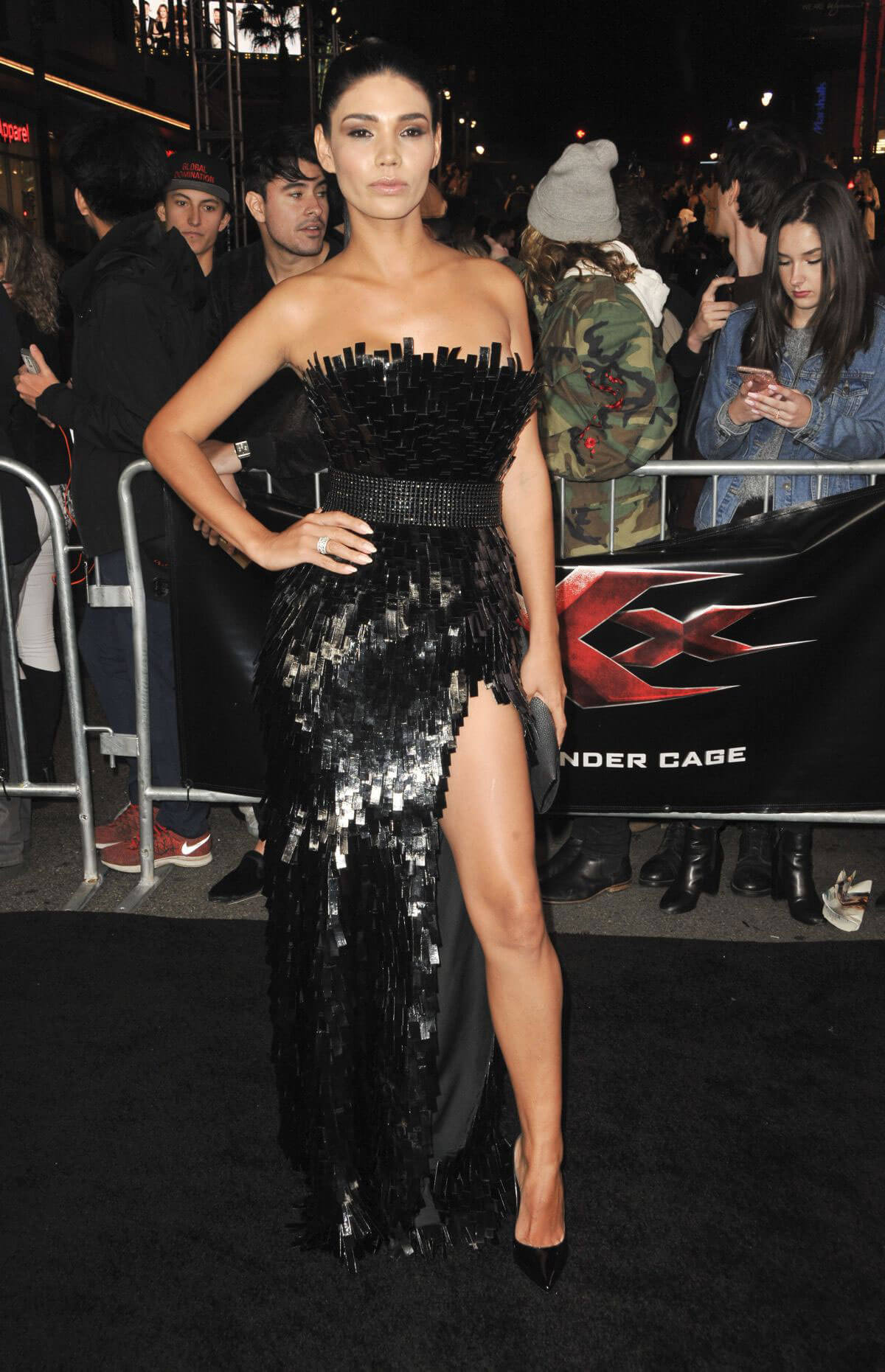 Paloma Jimenez at 'XXX - The Return of Xander Cage' Premiere in Hollywood