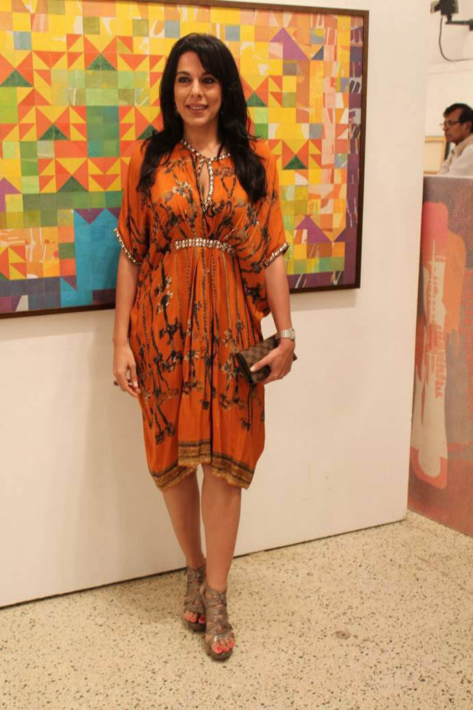 Pooja Bedi at Padmanabh Bendre Timeless Space Art Show Inauguration