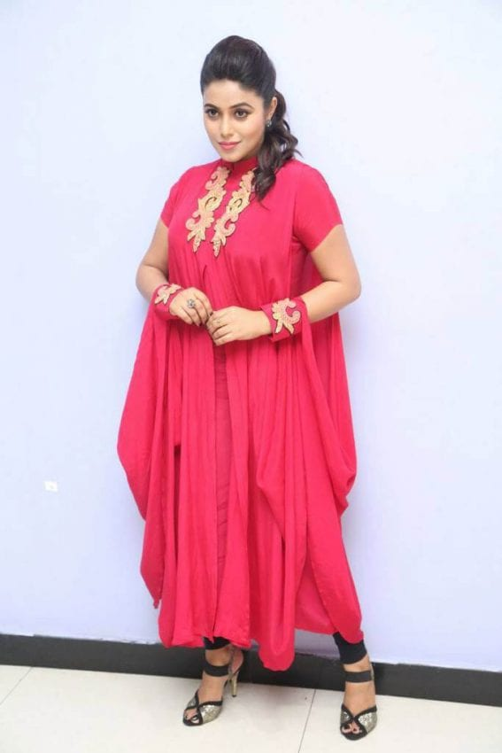 Poorna at Rakshasi Movie Motion Poster Launch