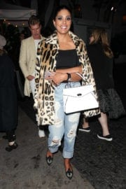 Rachel Roy Arrives at Chateau Marmont in West Hollywood