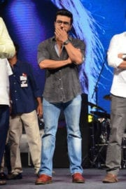 Ram Charan at Dhruva Pre Release Function
