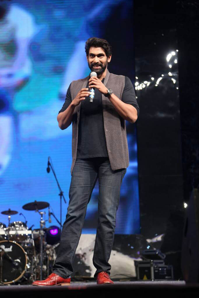 Rana Daggubati at Dhruva Movie Pre Release Function