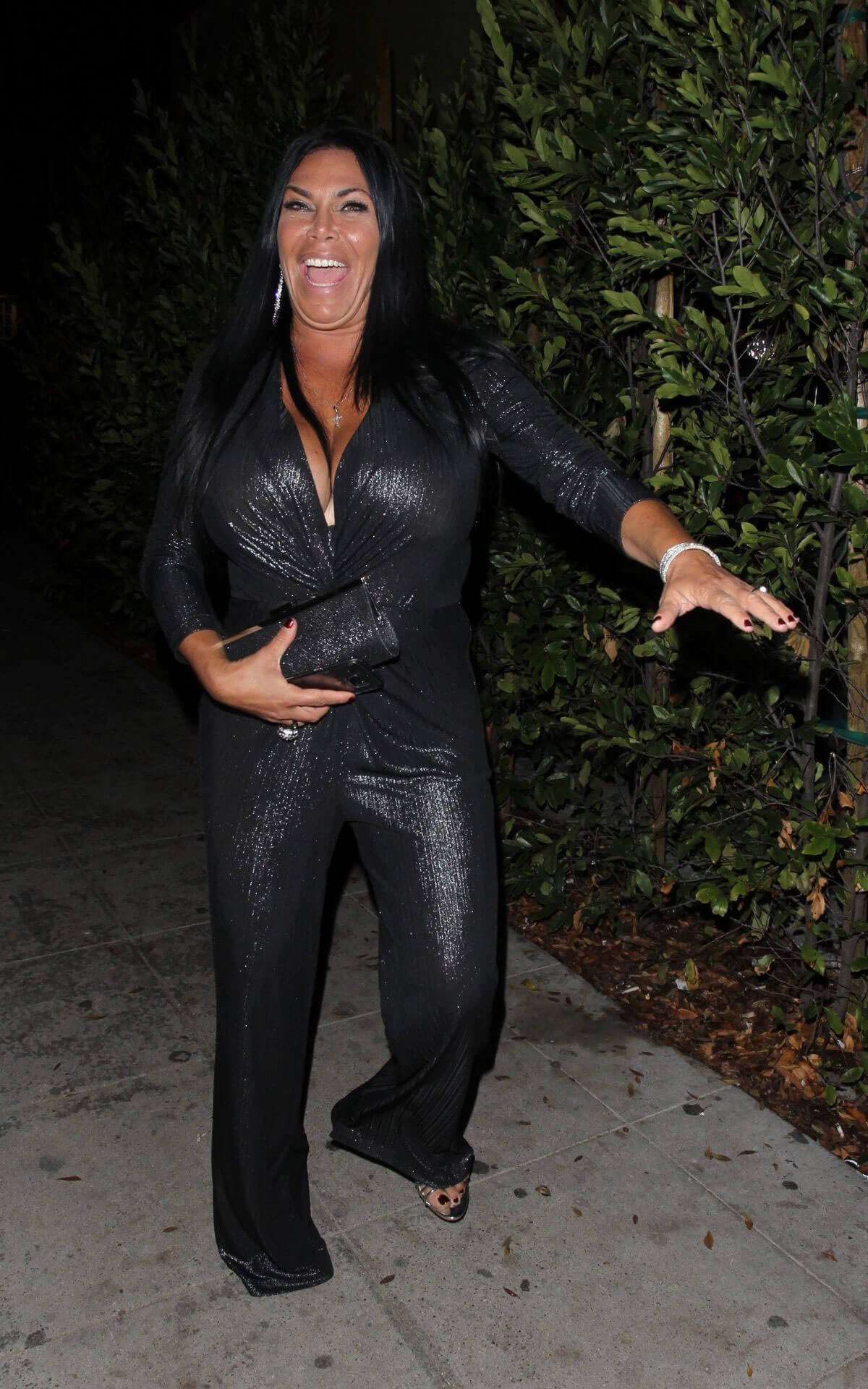Renee Graziano Night Out in West Hollywood