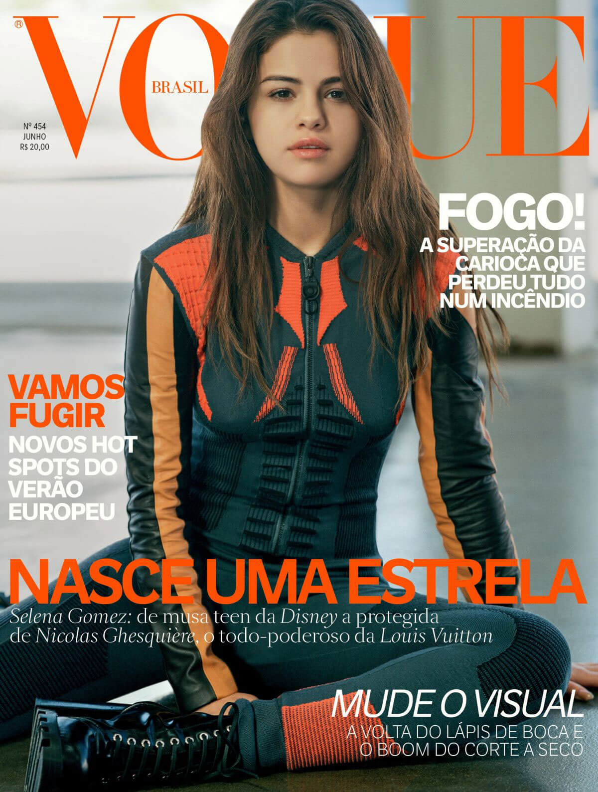Selena Gomez for Vogue Magazine Brazil 2016 Photoshoot