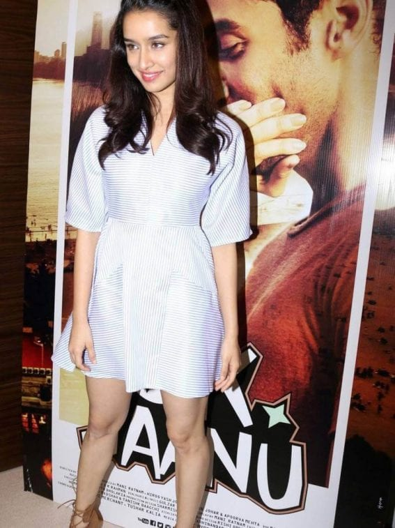 Shraddha Kapoor at Ok Jaanu Media Interaction