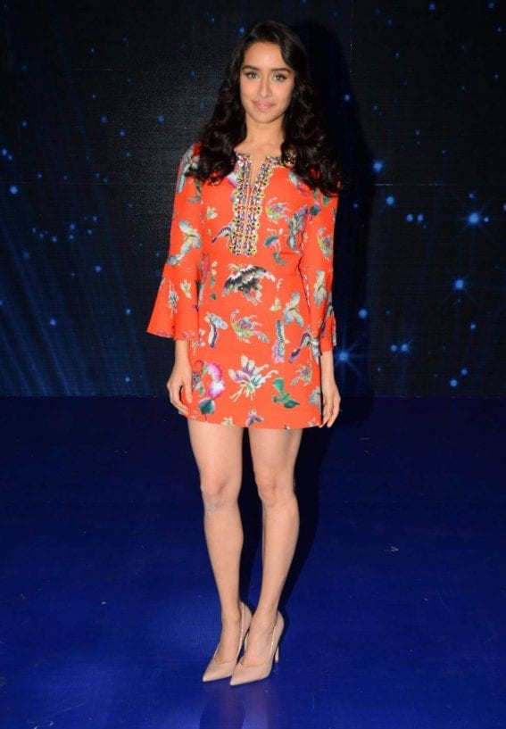 Shraddha Kapoor for OK Jaanu Promotions at Indian Idol Season 9
