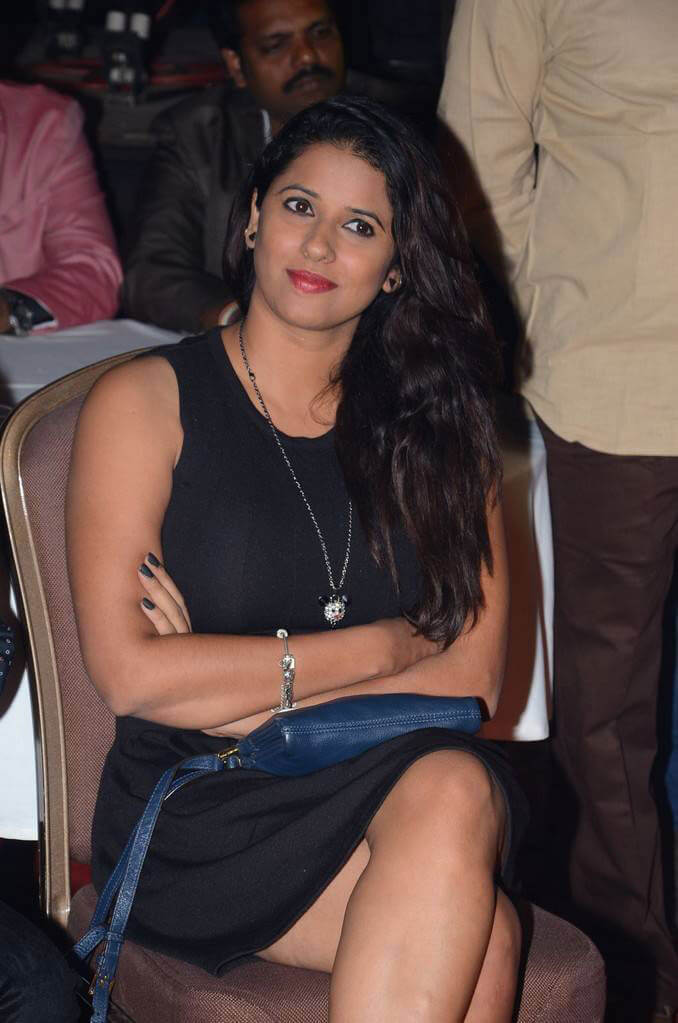 Shravya Reddy at RGV Journey From Shiva To Vangaveeti Event
