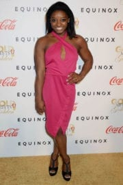 Simone Biles at Life is Good at Gold Meets Golden Event in Los Angeles