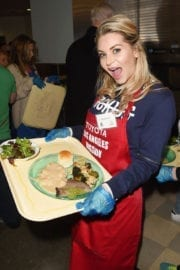 Sonia Rockwell at Los Angeles Mission Christmas Celebration