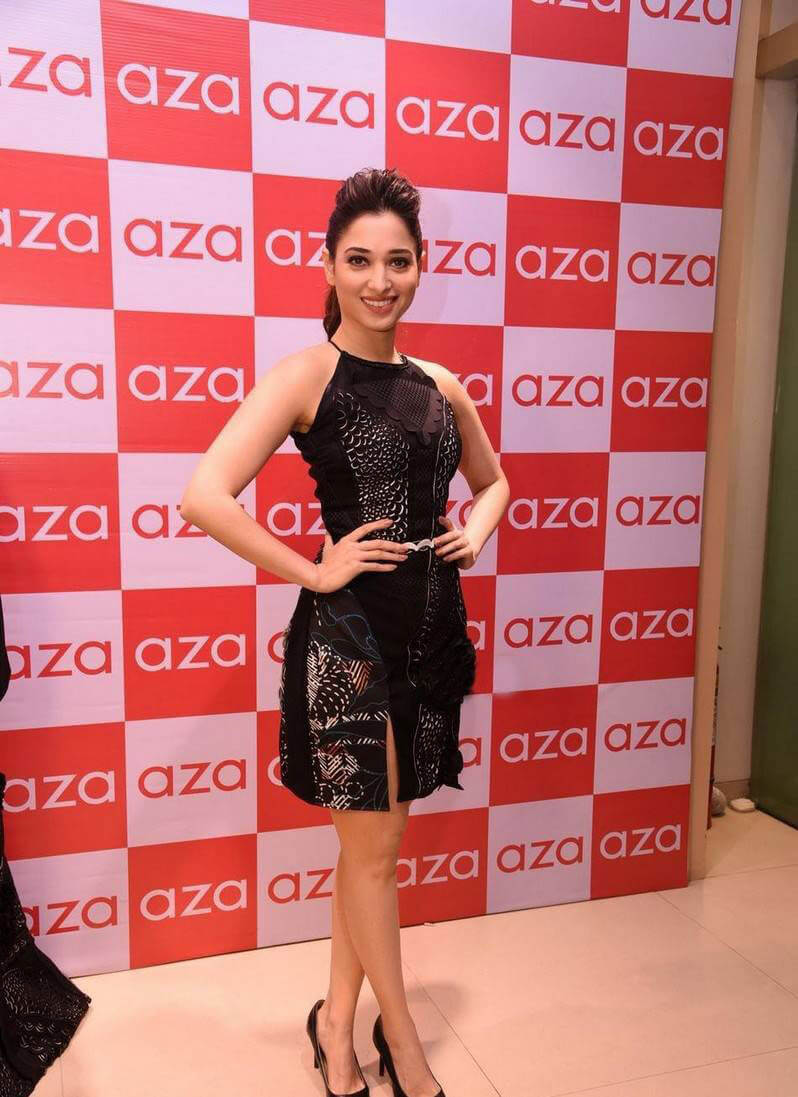 Tamanna at Esha Party Wear Collection Preview