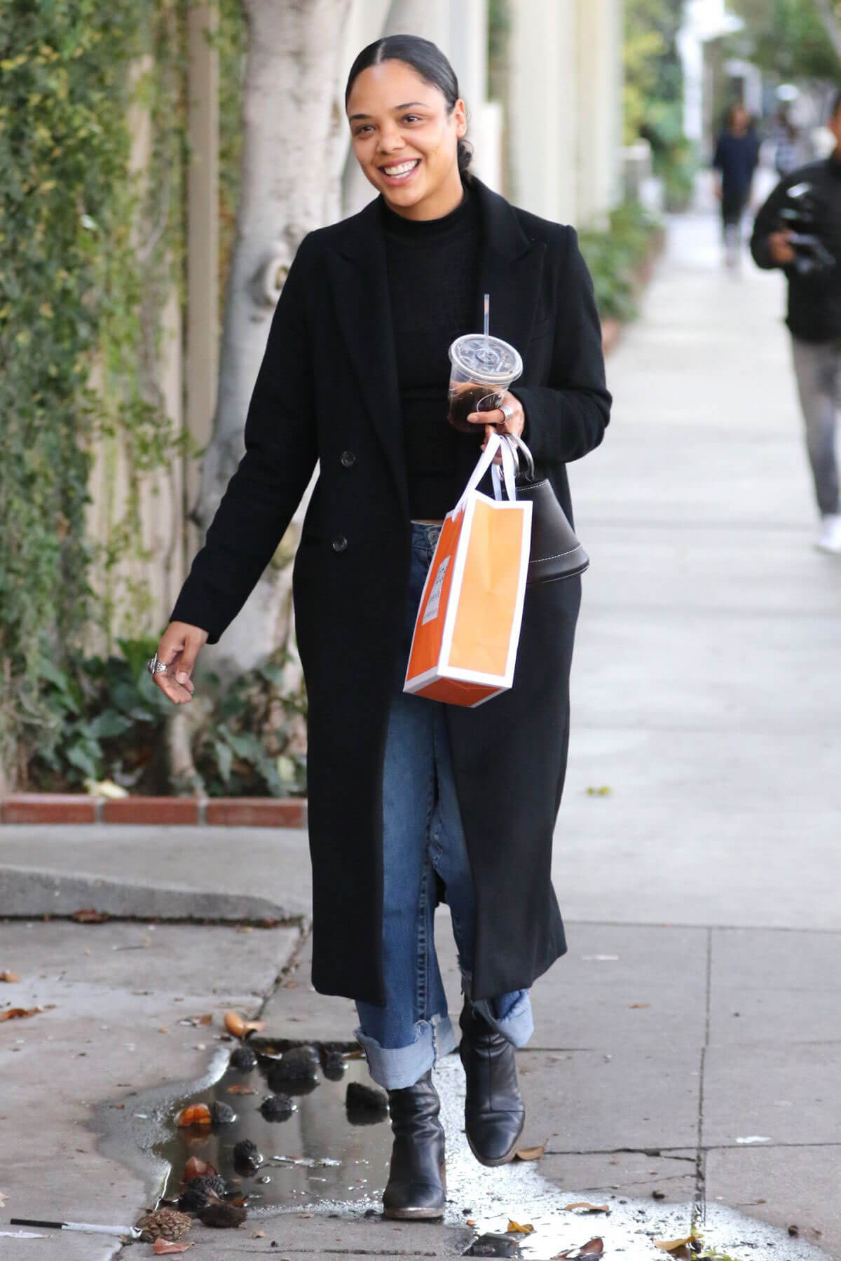 Tessa Thompson Out and About in West Hollywood