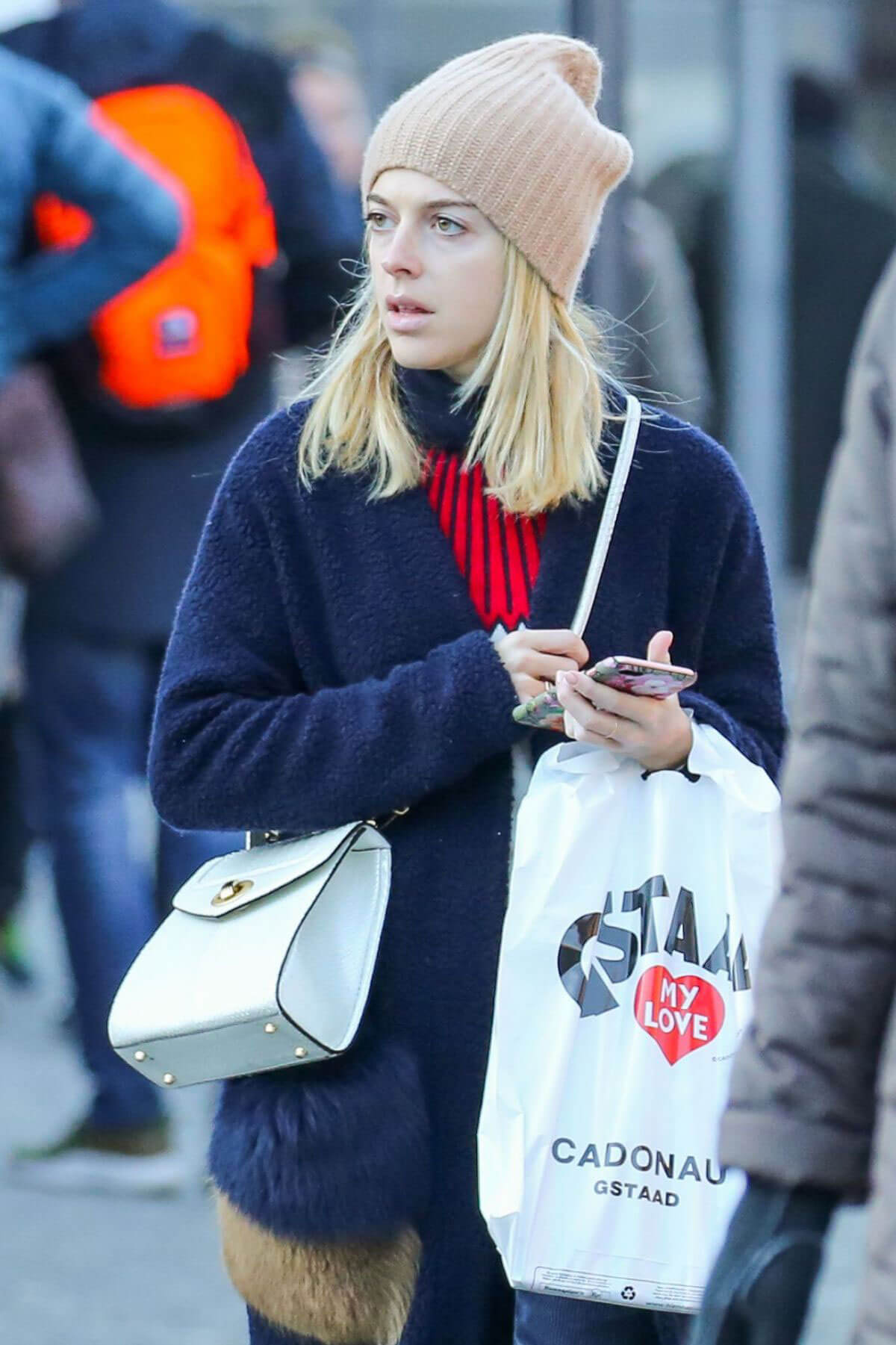 Victoria Monfort Stills Out and About in Gstaad Images