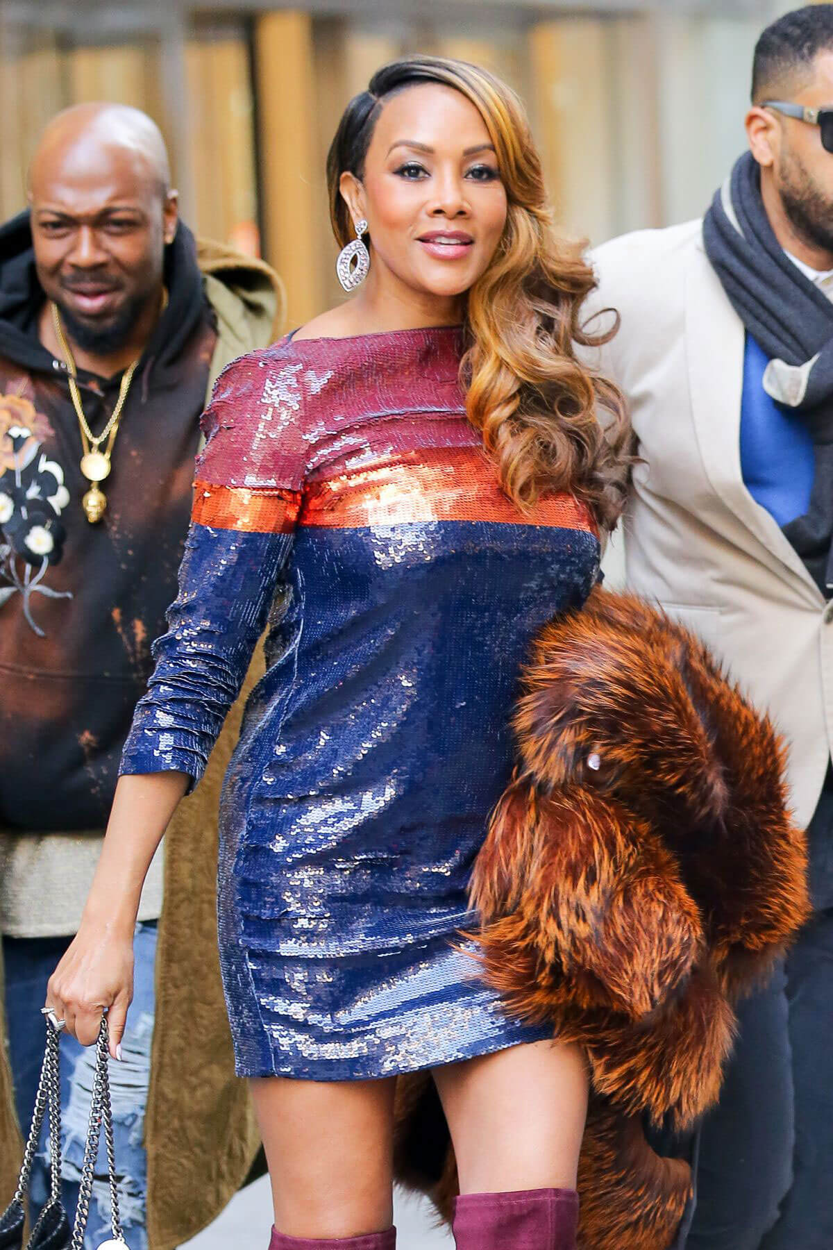 Vivica Fox leaving Siriusxm Radio in New York