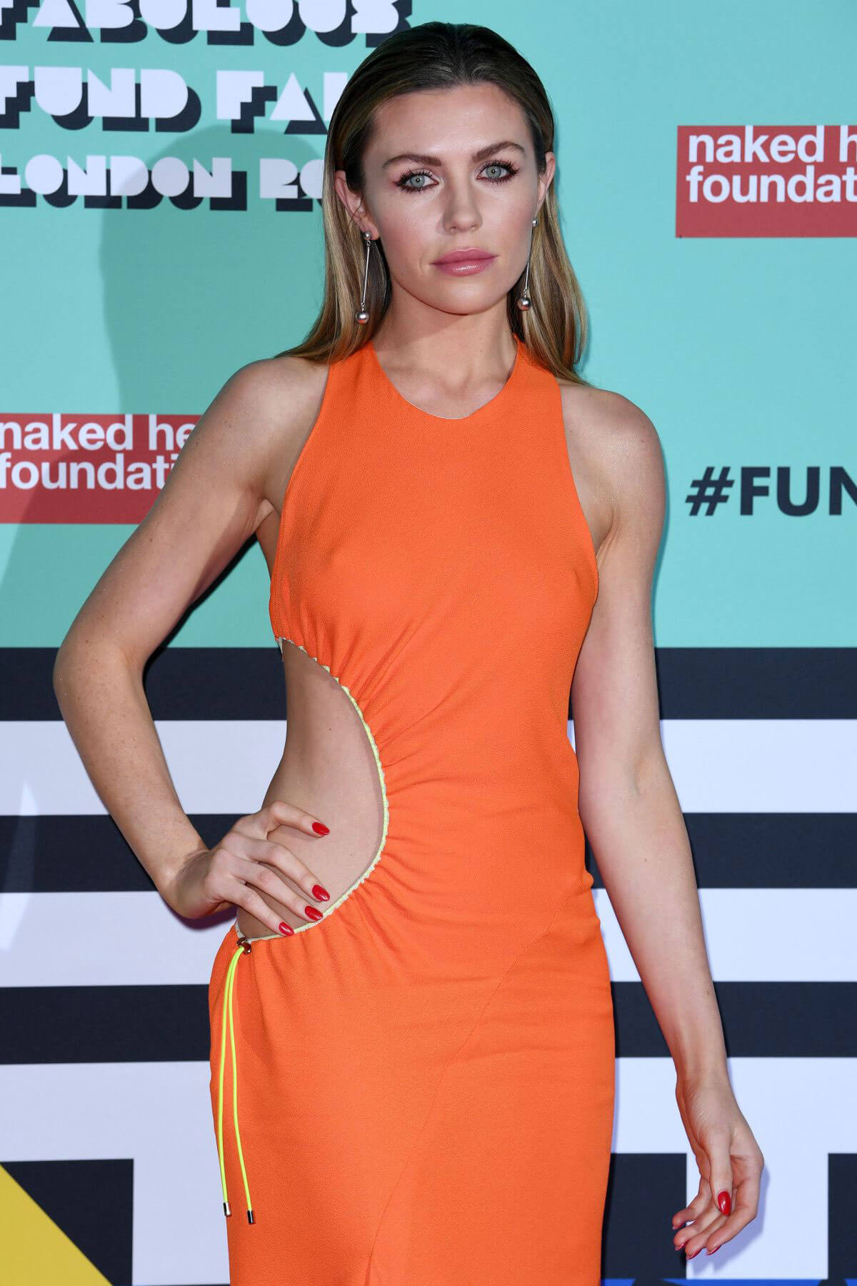 Abbey Clancy Stills at The Naked Heart Foundation Fabulous Fund Fair in London