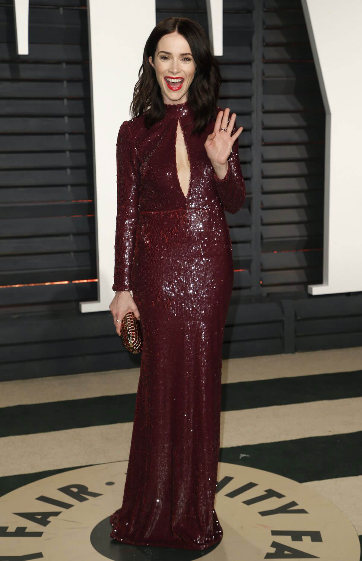 Abigail Spencer Stills at 2017 Vanity Fair Oscar Party in Beverly Hills