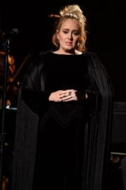 Adele Performs at 2017 Grammy Awards in Los Angeles