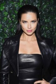 Adriana Lima at Maybelline MYFW Welcome Party in New York