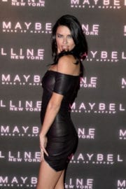 Adriana Lima Stills at Maybelline's Bring on the Night Party in London