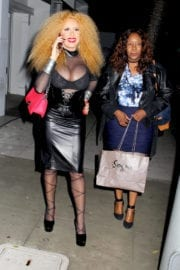 Afida Turner Night Out in Beverly Hills