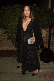 Aimee Song Arrives at Dior Party in West Hollywood