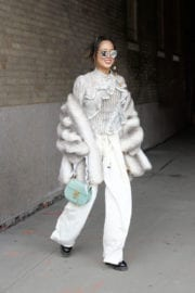 Aimee Song Out and About in New York