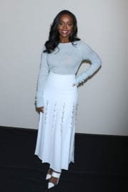 Aja Naomi King at Prabal Gurung Fashion Show at New York Fashion Week