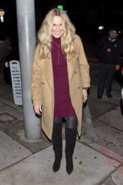 Alana Stewart Out For Dinner in West Hollywood