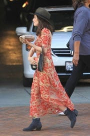 Aleksa Palladino Out and About in Beverly Hills
