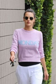 Alessandra Ambrosio Stills Out and About in Brentwood