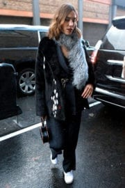 Alexa Chung Out and About in New York