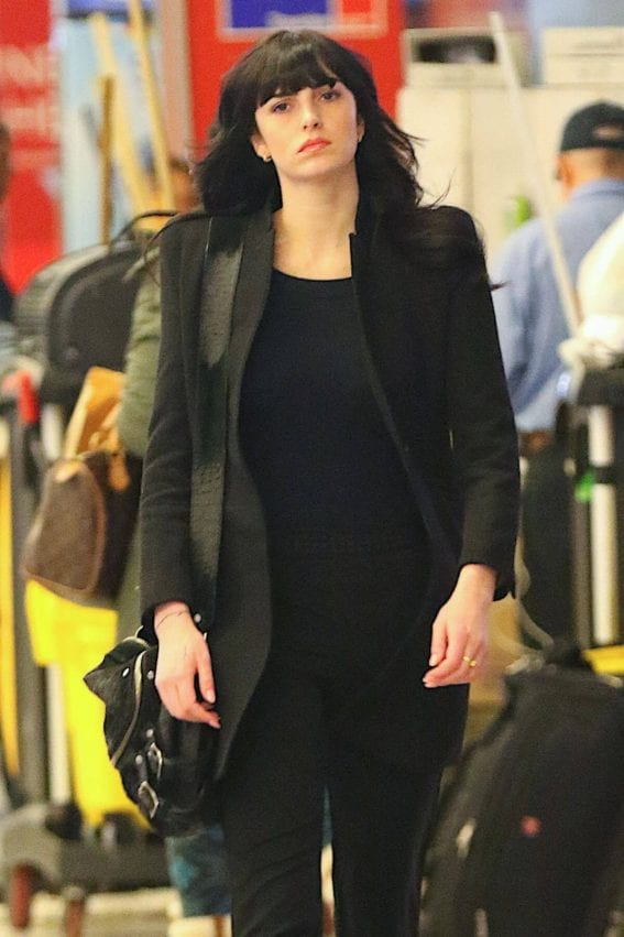 Ali Lohan Stills at JFK Airport in New York