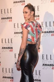 Alice Dellal at Elle Style Awards 2017 in London