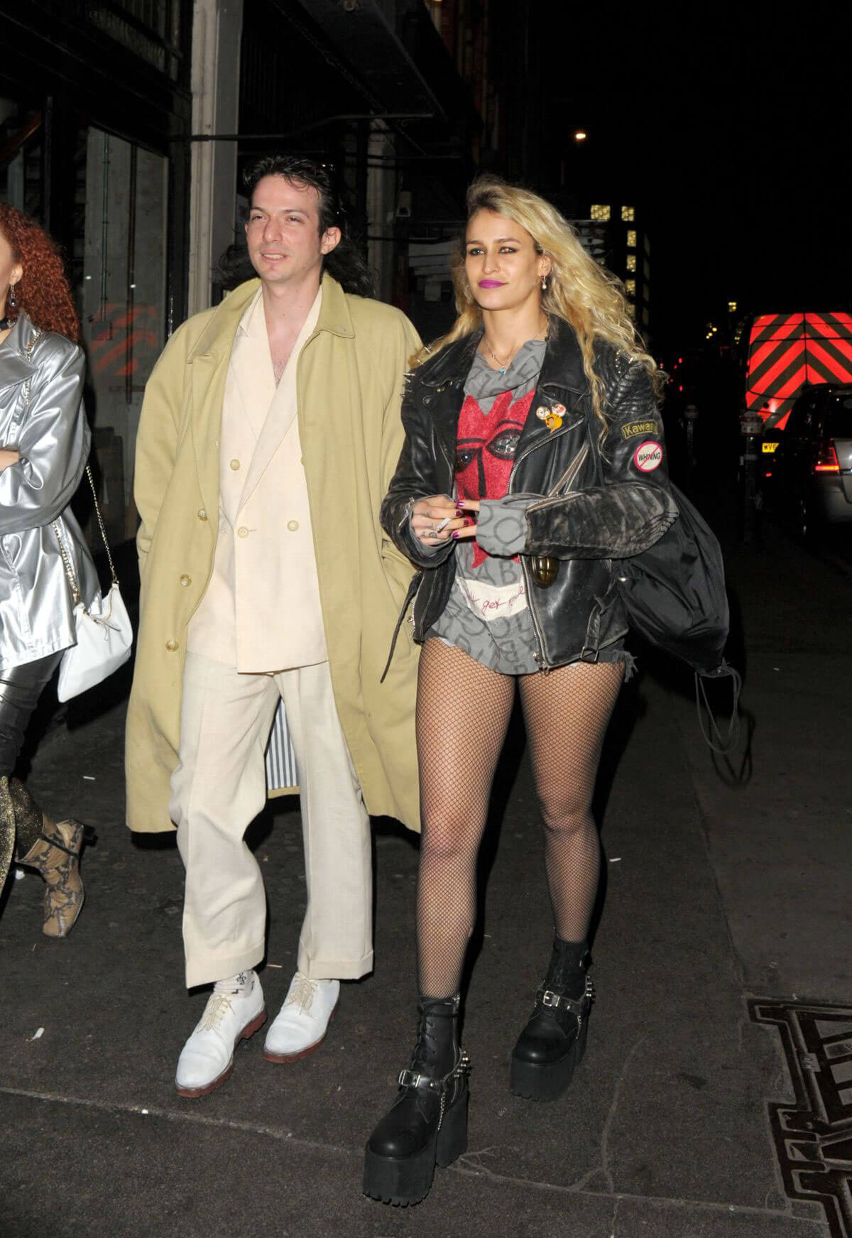 Alice Dellal Stills Night Out in London