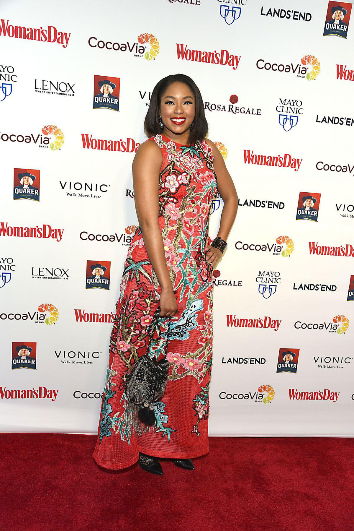 Alicia Quarles at Women's Day 14th Annual Red Dress Awards in New York