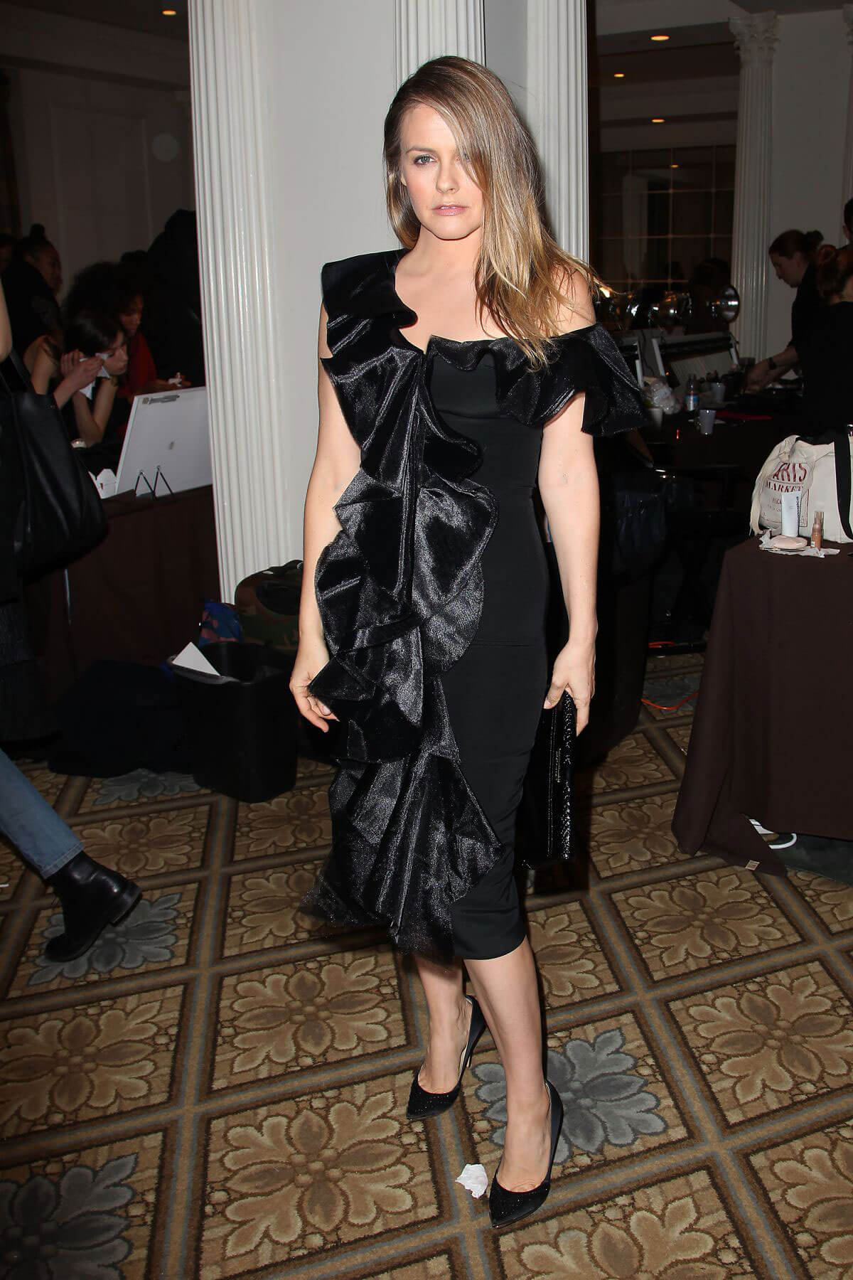 Alicia Silverstone at Christian Siriano Fashion Show in New York