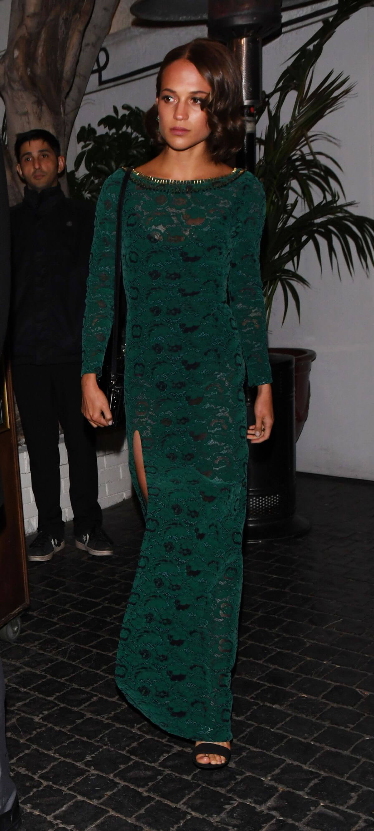 Alicia Vikander Stills at Chateau Marmont Hotel in West Hollywood
