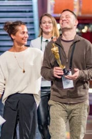 Alicia Vikander Stills at Rehearsal for the 89th Annual Academy Awards in Hollywood