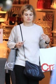 Alison Sudol Out For Shopping in Los Angeles