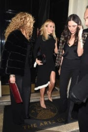 Amanda Holden and Lauren Silverman Night Out in London